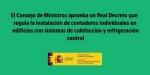 Normativa calefacción 2020: aprobado Real Decreto de contadores individuales para para sistemas de calefacción central
