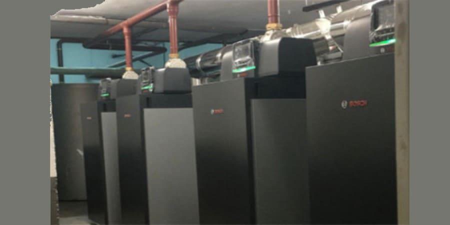 renovación salas de calderas Bosch