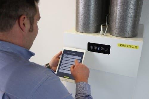 app control sistema de ventilación