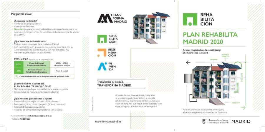 ayudas para la rehabilitación de edificios 2020