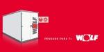 Unidad térmica CKL CHA Wolf para lograr Edificios de Consumo de Energía Casi Nulo