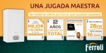 Jugada Maestra de Ferroli: póker de ventajas de sus calderas a gas