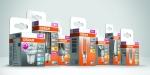 Las lámparas led de la marca OSRAM de Ledvance, en envases reciclables y sin plásticos