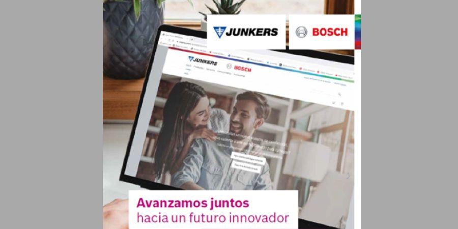 Nueva web de Junkers con un diseño sencillo, intuitivo e innovador