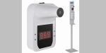 Un termómetro infrarrojo sin contacto de pared, entre los productos anti Covid-19 de Genebre