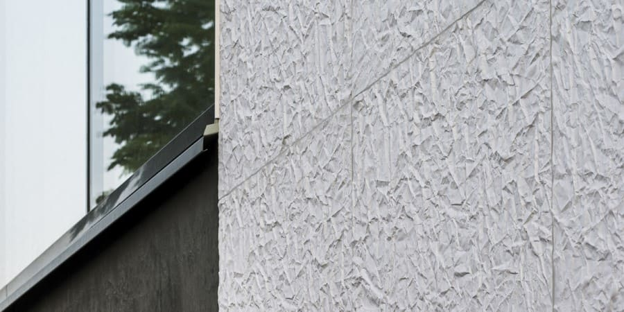 fachada con textura papel ulma