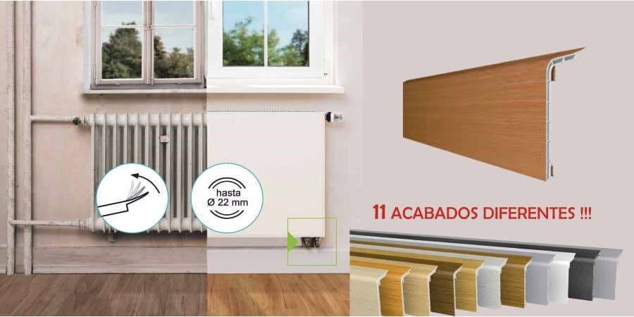 radiadores baja temperatura para bomba de calor