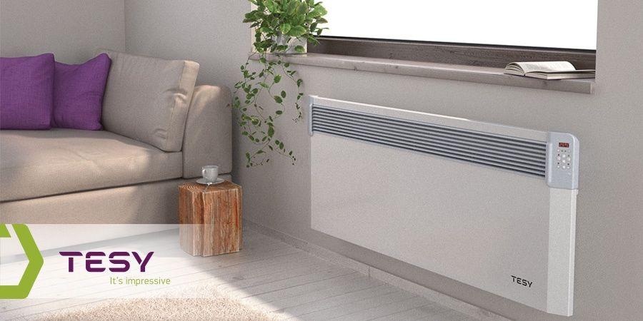 Calefacción eléctrica portátil TESY: nuevos convectores y radiadores eléctricos