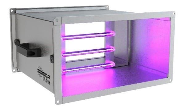 tecnologia ultravioleta en ventilacion