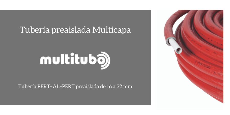 Nueva gama de tubería multicapa preaislada de Multitubo