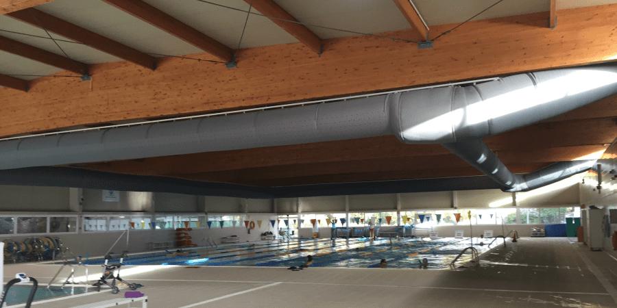 calidad del aire en polideportivos