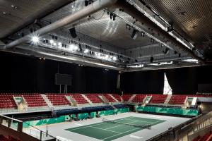 calidad del aire en estadios deportivos