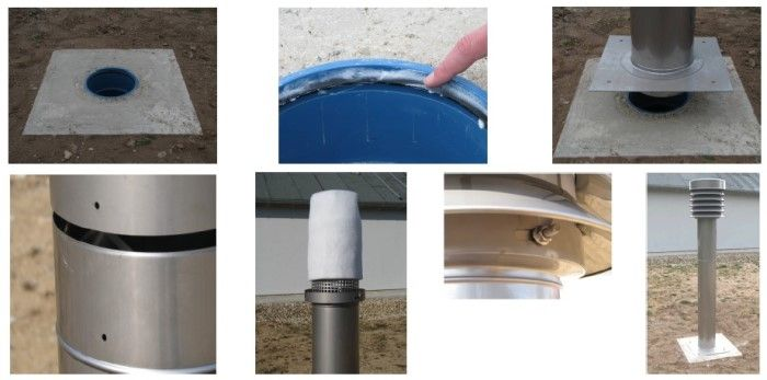 filtros sistemas tubos canadienses