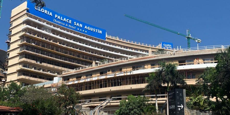 Soluciones Weber para renovar el hotel Gloria Palace San Agustín de Gran Canaria