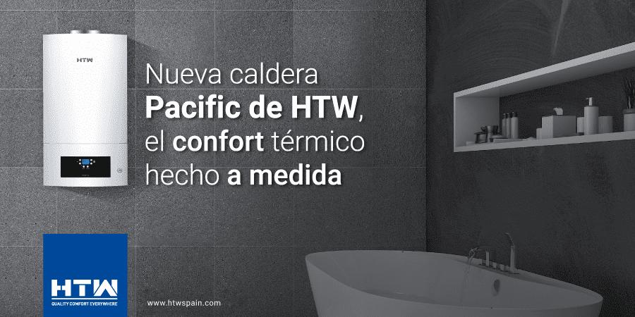 Nueva caldera digital de condensación Pacific de HTW: confort térmico a medida