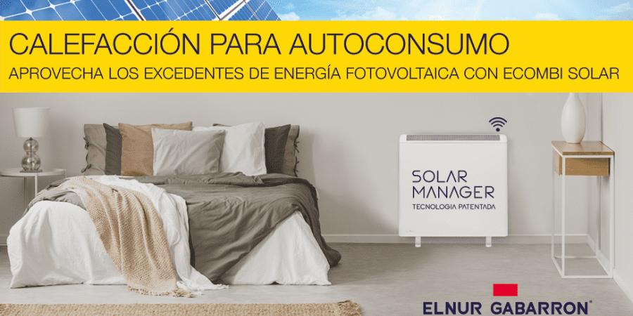 Ecombi Solar, el acumulador de calor que aprovecha los excedentes en instalaciones domésticas fotovoltaicas