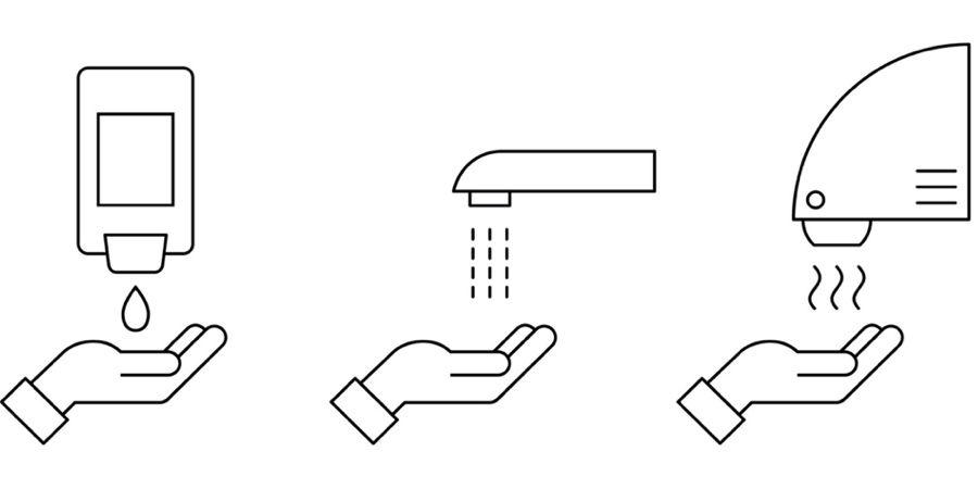 secadores de manos frente coronavirus