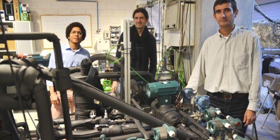 La UPCT diseña una bomba de calor con CO2 como refrigerante