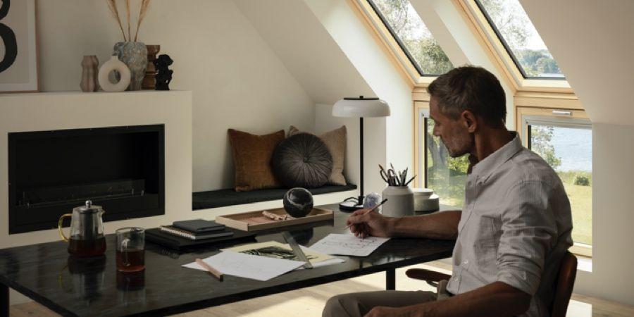 La iluminación natural en las casas es insuficiente para teletrabajar