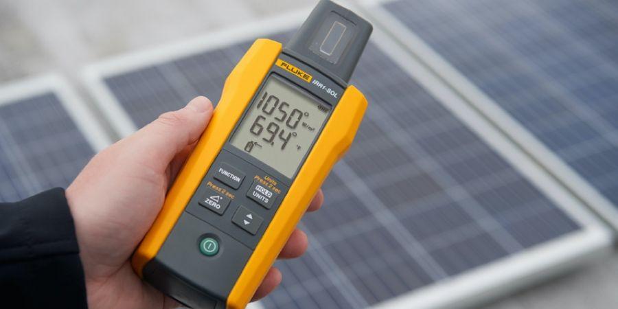 Medidor de radiación solar Fluke IRR1-SOL para paneles solares o sistemas fotovoltaicos