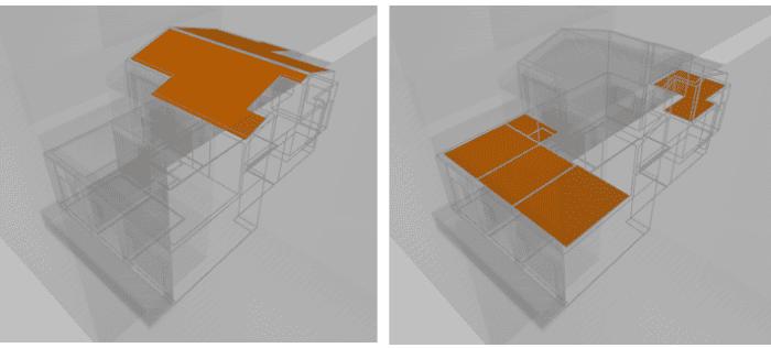 mejora de la cubierta vivienda duplex