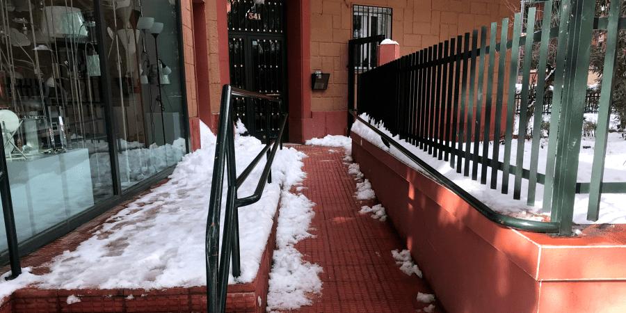 proteccion de edificios contra heladas