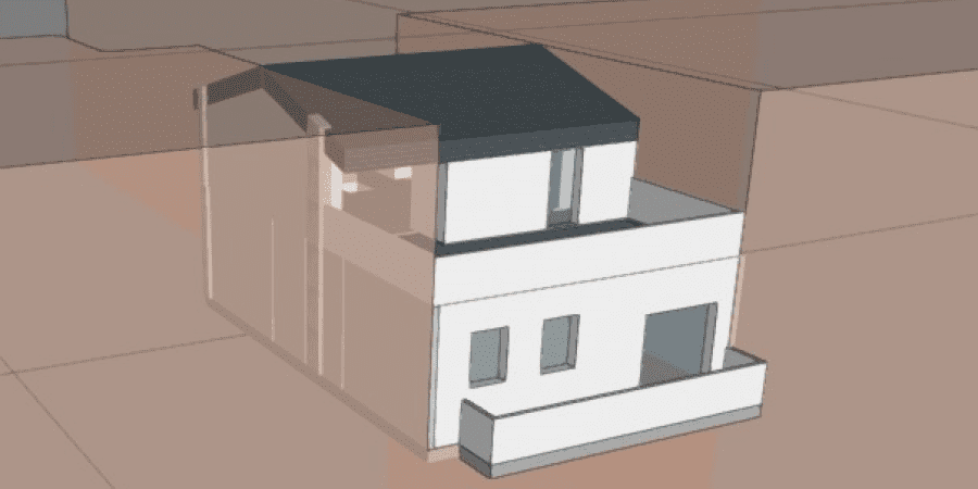Rehabilitación energética de vivienda dúplex: medidas de mejora