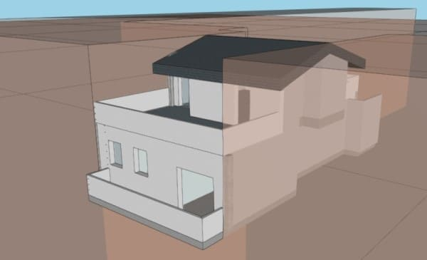 rehabilitacion energetica vivienda duplex fachada oeste