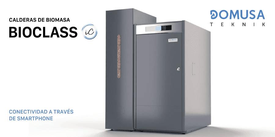 Tecnología FLAME LOGIC; combustión optimizada en las calderas de pellet BioClass iC