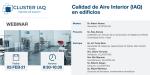 Webinar Calidad Aire Interior en Edificios organizado por CLUSTER IAQ