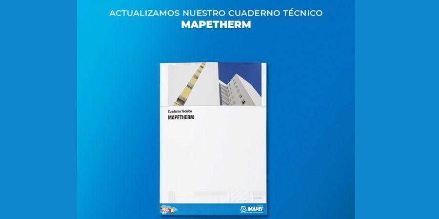 Mapei actualiza los contenidos de su cuaderno técnico sobre aislamiento térmico