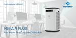 Aire limpio y saludable en cualquier espacio con el purificador de aire MIA AIR PLUS