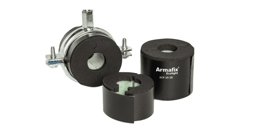 ArmaFix® Ecolight, soporte de tuberías ecológico, económico y ligero, ahora disponible en combi-pack