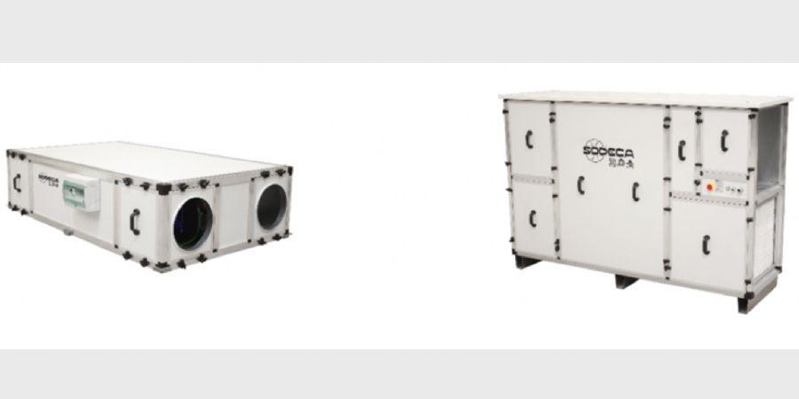 recuperadores de calor de alta eficiencia