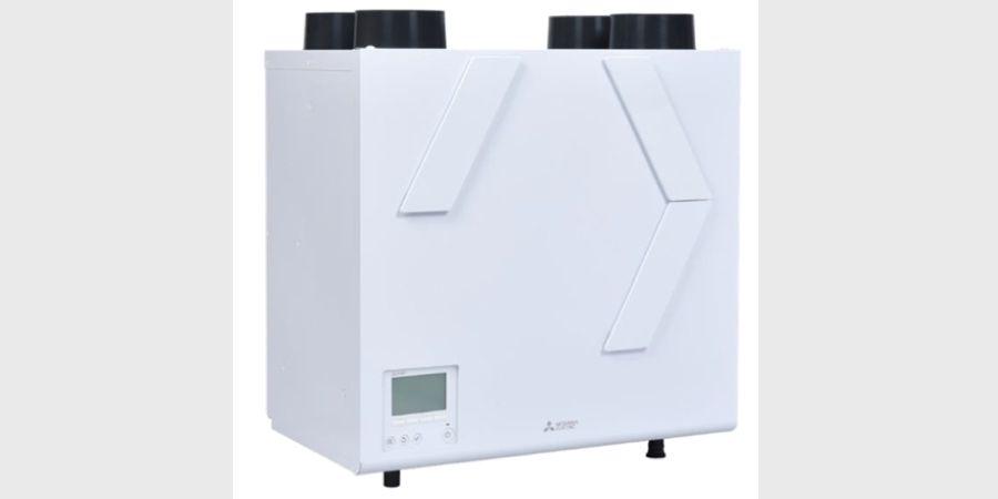 Nuevo sistema de ventilación Lossnay vertical: alta eficiencia y mayor confort de Mitsubishi Electric