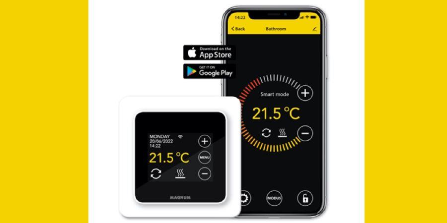 Nuevo termostato para sistemas de calefacción eléctrica MRC de Magnum Heating