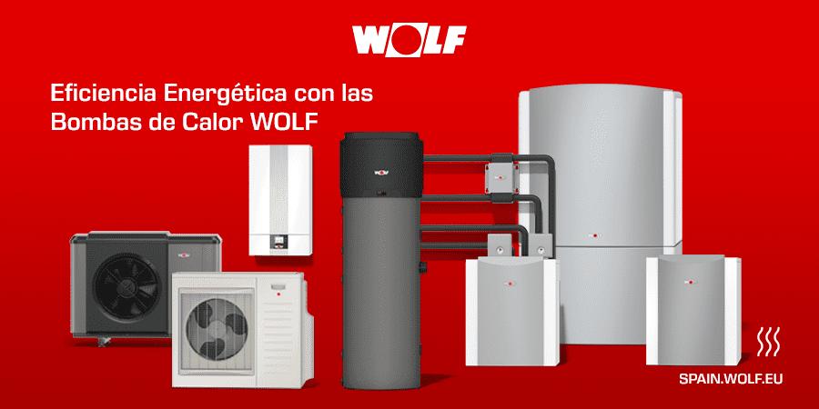 Bombas de calor Wolf: la climatización más sostenible y eficiente