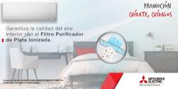 filtro purificador nueva promocion mitsubishi electric