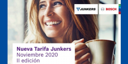 nueva tarifa junkers 2021
