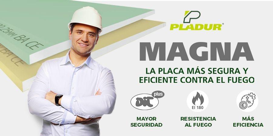 Pladur® Magna, la placa más eficiente y segura contra el fuego