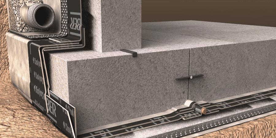 proteccion frente gas radon laminas asfalticas