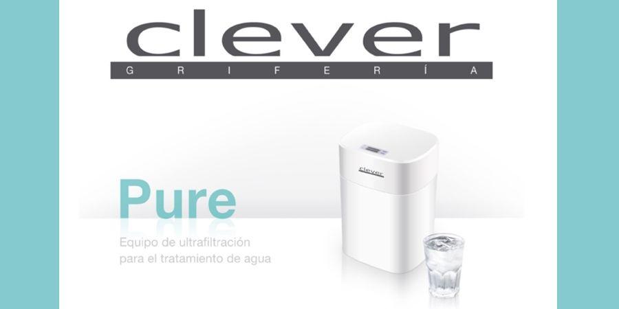 Innovador equipo de ultrafiltración Pure de Clever para el tratamiento de agua