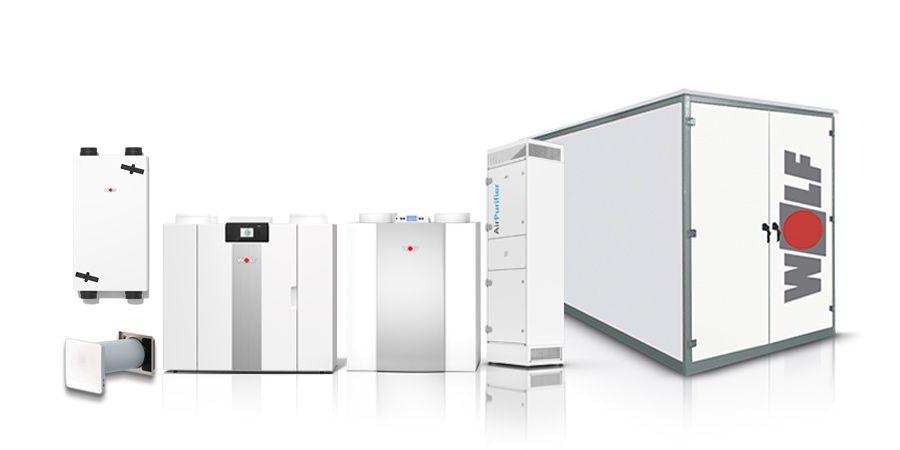 La ventilación a la carta de WOLF ayuda a conseguir un aire saludable en interiores