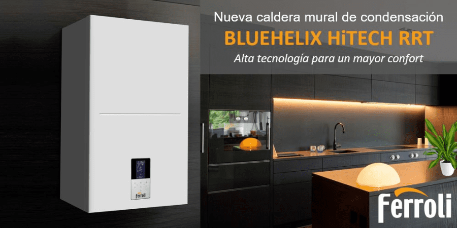 Caldera de condensación BLUEHELIX HiTECH RRT: Alta tecnología para un mayor confort