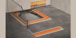 Construcción de platos de ducha a nivel de suelo con máxima flexibilidad con el sistema Schlüter-KERDI-LINE-VARIO