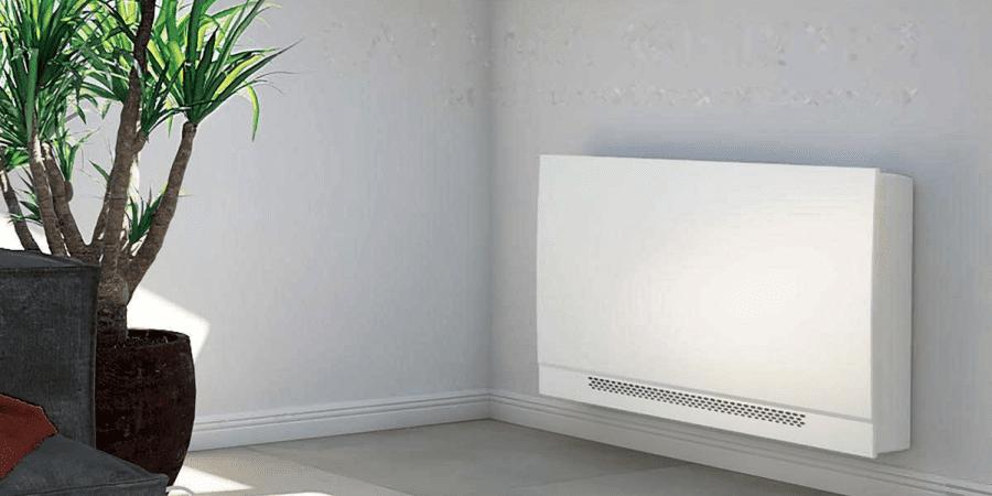 Nuevo fancoil CARISMA WHISPER CFF ECM de TECNA SABIANA para climatización residencial