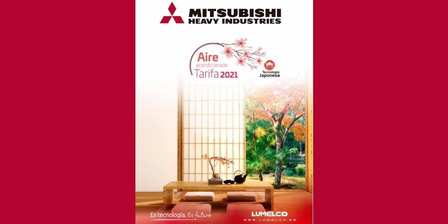 Nueva tarifa Mitsubishi Heavy Industries 2021: eficiencia, innovación y confort