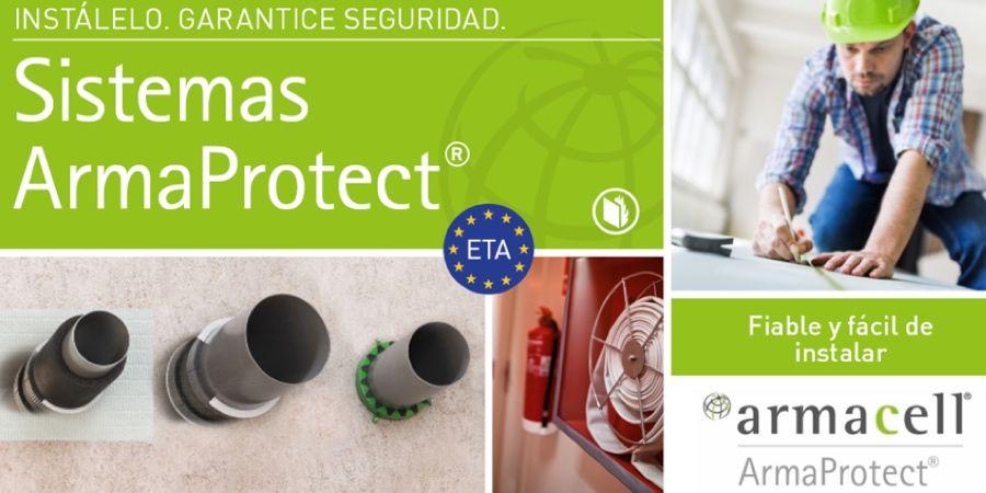 Nuevos productos ArmaProtect de protección pasiva contra el fuego