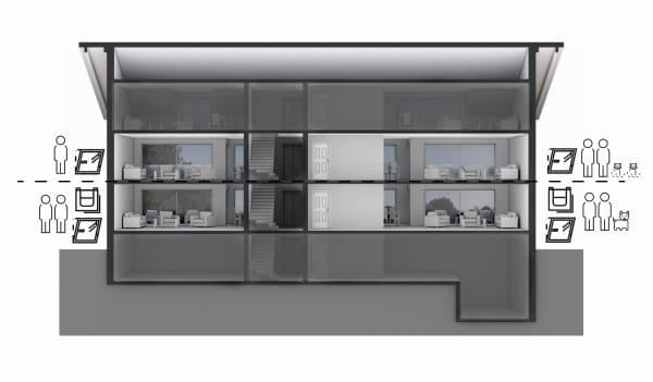 plano ventilacion de la vivienda