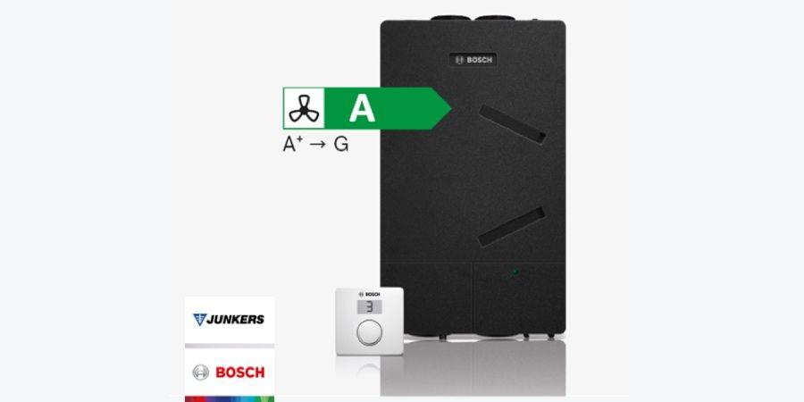 Nuevo recuperador de calor Junkers Bosch Vent 4000 CC con alta eficiencia energética